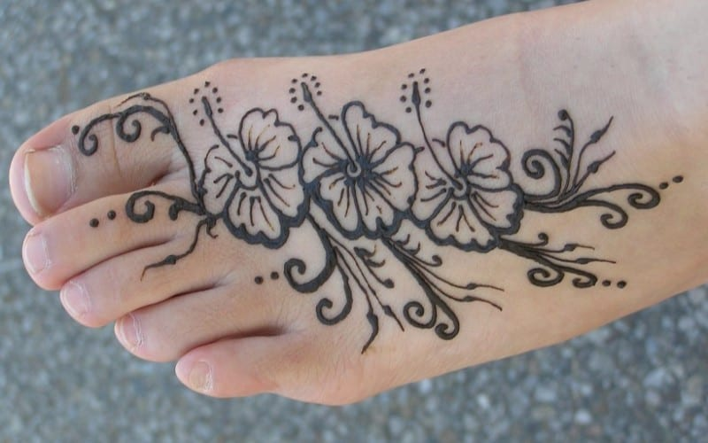 Henna Kaki Simple Sederhana Terbaru Video Tutorial
