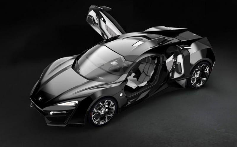 Sportcar W Motors Lykan Hypersport